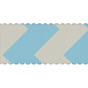 Inspire Ribbon- Fat Chevron