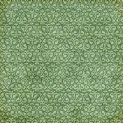 Damask 15- Green