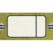 Tag Shape 115- Green