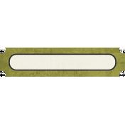 Tag Shape 114- Green