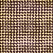 Houndstooth- yellow/purple