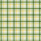 Plaid 21 Paper- Green, White & Yellow