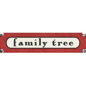 Family Tag- Family Tree