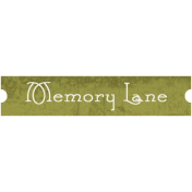 Family Tag- Memory Lane