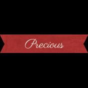 Family Tag- Precious
