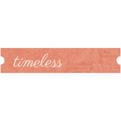 Family Tag- Timeless