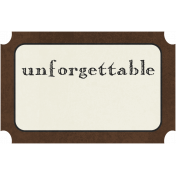 Family Tag- Unforgettable