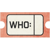Family Tag- Who