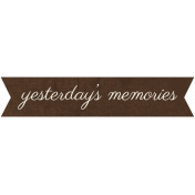Family Tag- Yesterday's Memories