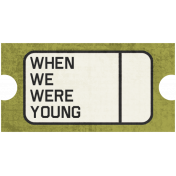 Family Tag- When We Were Young