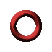 Eyelet- Red