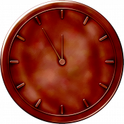Clock- Red