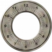 Clock- Frame with Numbers