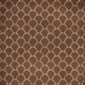 Family Game Night Brown Ornamental Paper