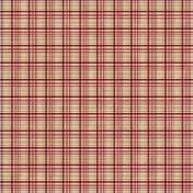 Family Game Night Plaid Paper