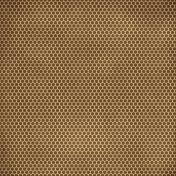 Family Game Night Brown Polka Dot Paper