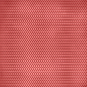 Family Game Night Polka Dot Paper- Red