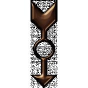 Spinner Arrow- Bronze