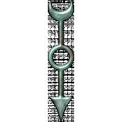 Spinner Arrow- Copper