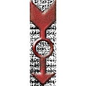 Spinner Arrow- Red