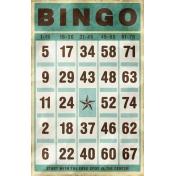 Bingo Card- Blue