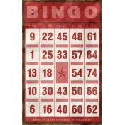 Bingo Card- Red