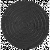Game Piece Token- Black