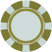 Poker Game Coin- Green