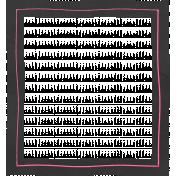 Frame Shape 50- Black & Pink