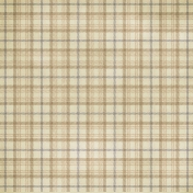Plaid 25 Paper- Tan