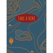 Scout Journal Card- Take A Hike