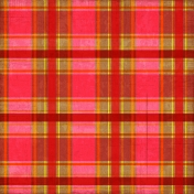 Plaid 27 Paper- Pink & Red