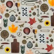 Khaki Scouts- Embellishments Paper
