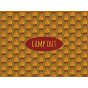 Scout Journal Card- Camp Out