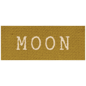 Khaki Scouts Label- Moon