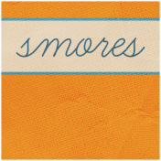 Khaki Scouts Label- Smores