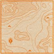 Khaki Scouts- Map Paper