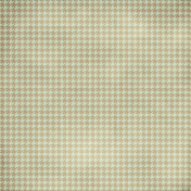 Houndstooth Paper- Aqua & Tan