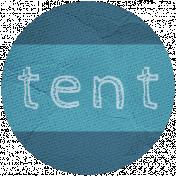 Khaki Scouts Label- Tent