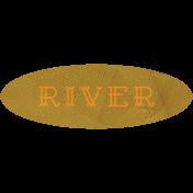 Khaki Scouts Label- River