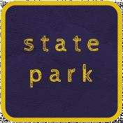 Khaki Scouts Label- State Park