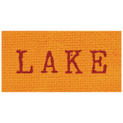 Khaki Scouts Label- Lake