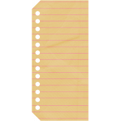 Pencil- Notebook Tag