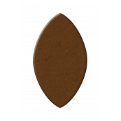 Brown Chipboard Leaf