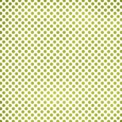 Polka Dots 23 Paper- Green & White