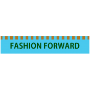 Mix & Match Label- Fashion Forward