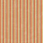 Stripes 50 Paper- Red & Teal