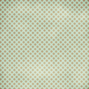 Polka Dots 23 Paper- Blue & Tan