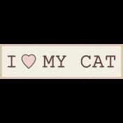 Kitty Kat Tag