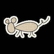 Kitty Kat- Mouse Sticker